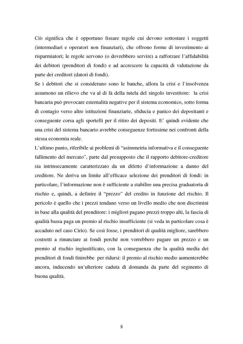 Anteprima della tesi: Il fallimento del sistema dei controlli interni ed esterni nel caso Parmalat, Pagina 8