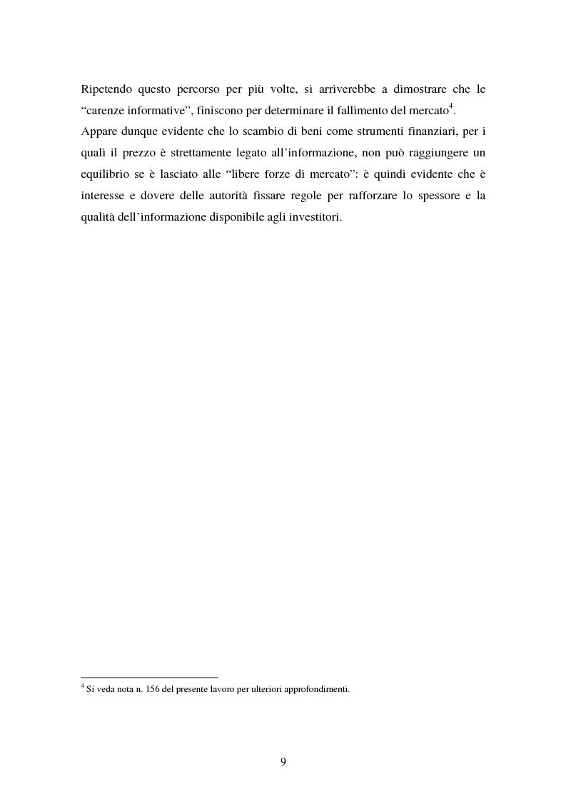 Anteprima della tesi: Il fallimento del sistema dei controlli interni ed esterni nel caso Parmalat, Pagina 9
