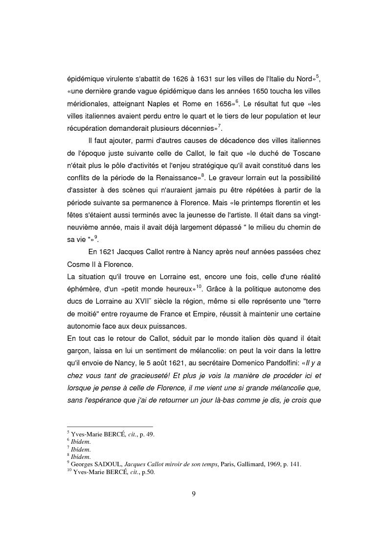 Anteprima della tesi: Etude sur Callot dans sa présence au Musée Lorrain de Nancy, Pagina 3