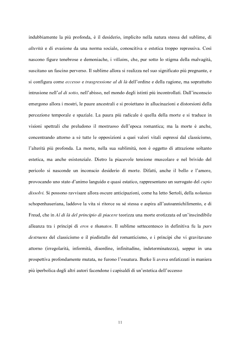 Anteprima della tesi: Burke e il sublime nella prima metà del 'Settecento inglese, Pagina 10
