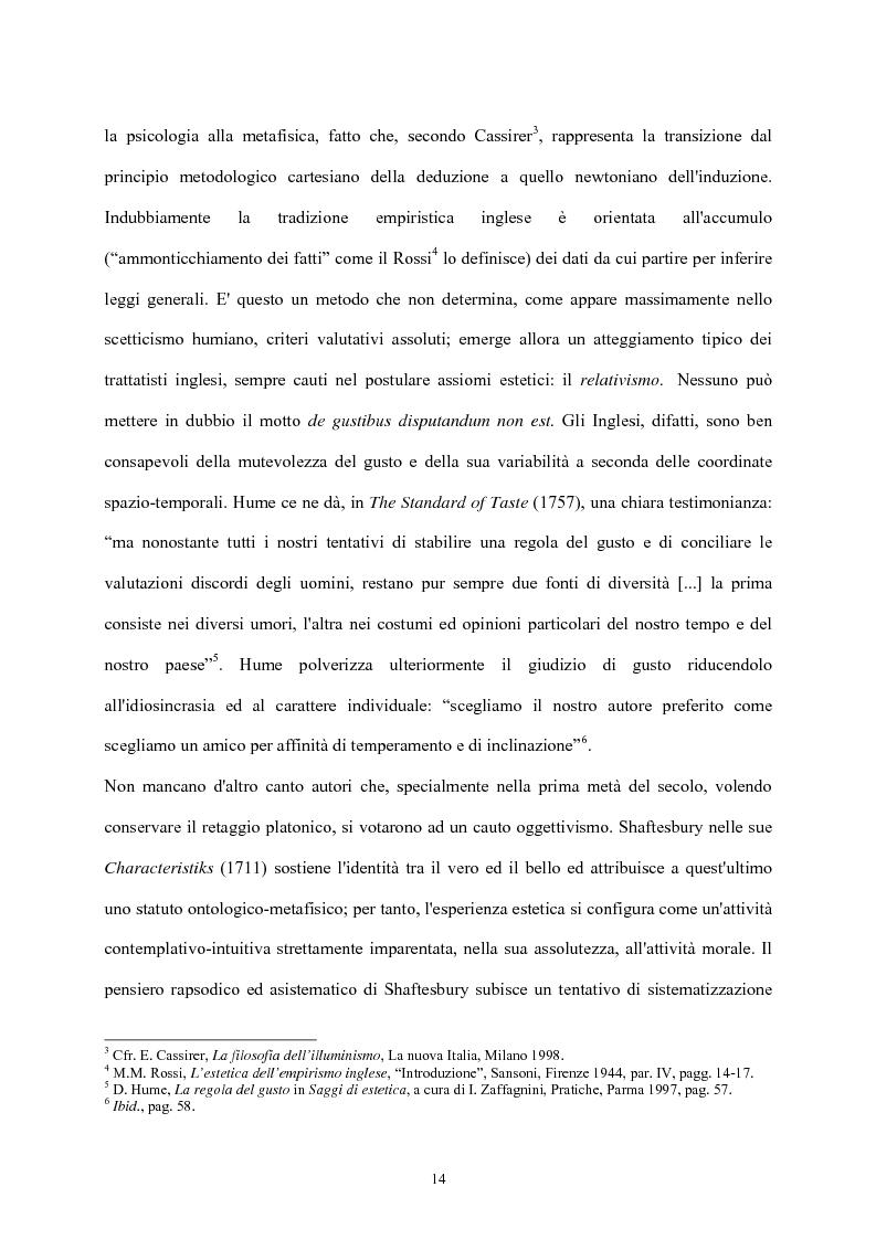 Anteprima della tesi: Burke e il sublime nella prima metà del 'Settecento inglese, Pagina 13