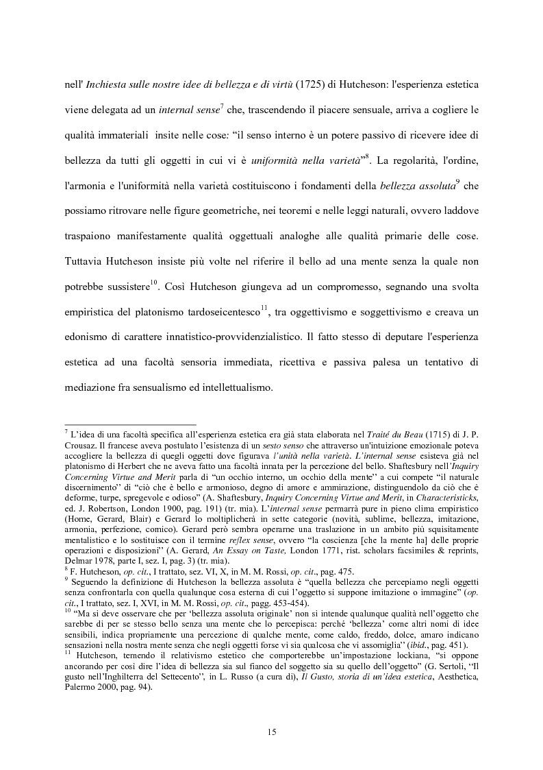 Anteprima della tesi: Burke e il sublime nella prima metà del 'Settecento inglese, Pagina 14