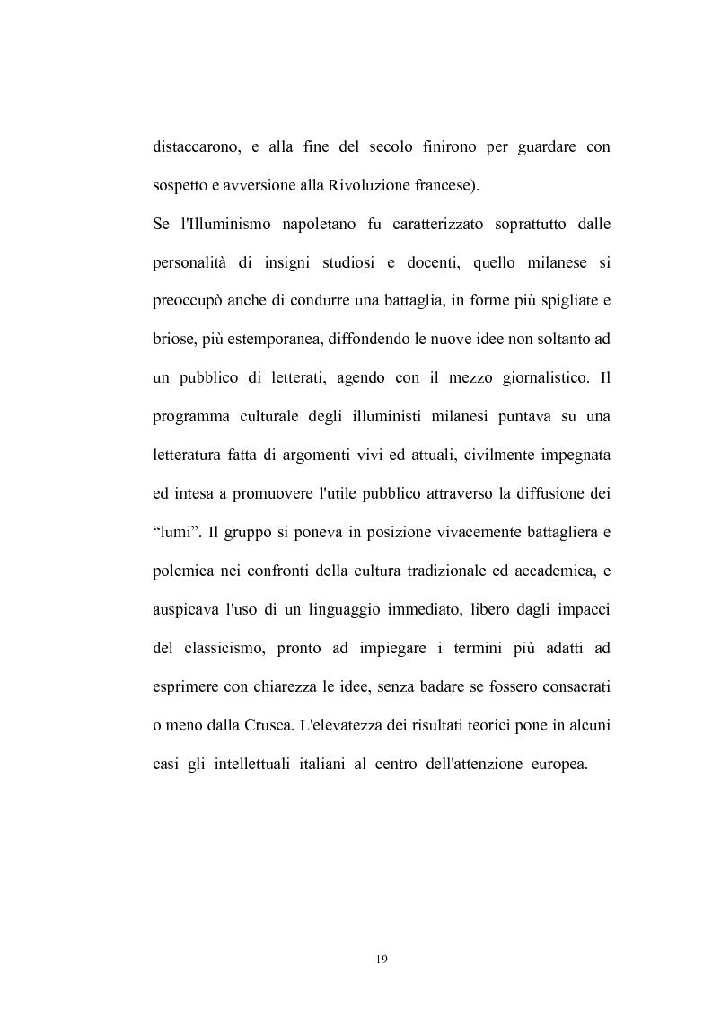 Anteprima della tesi: Il Caffè: discorsi di carattere etico-sociale, Pagina 15