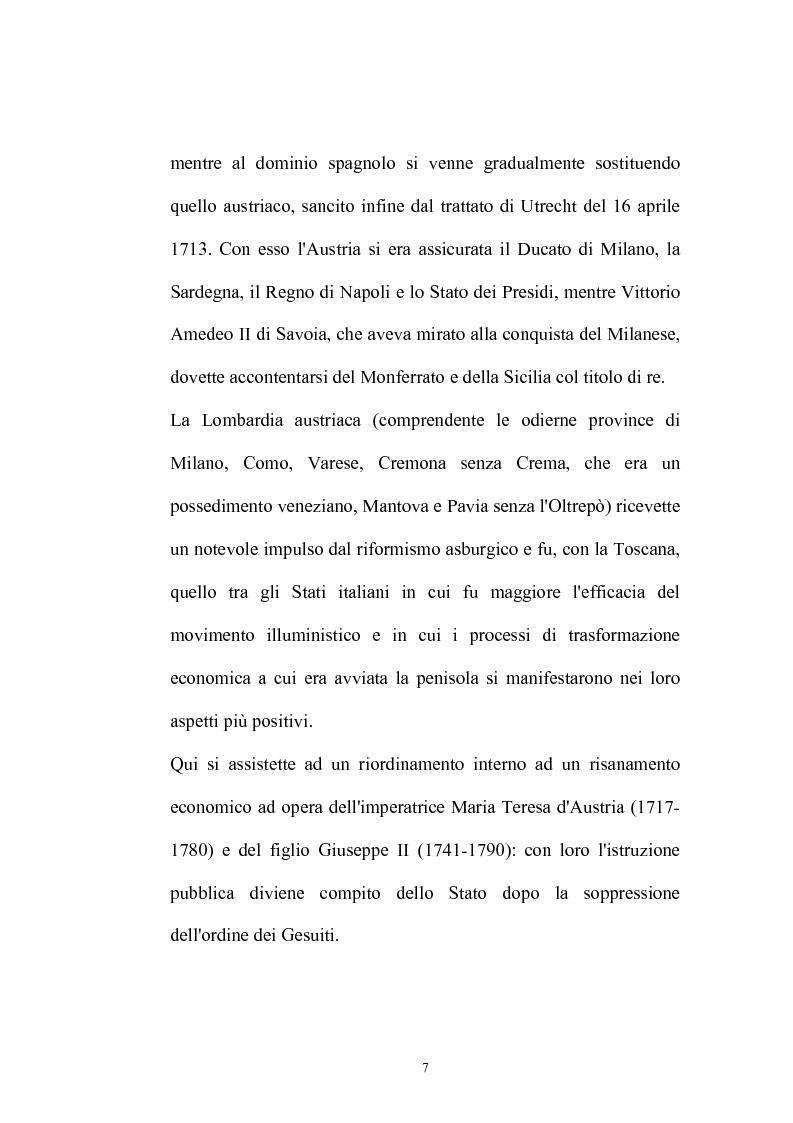 Anteprima della tesi: Il Caffè: discorsi di carattere etico-sociale, Pagina 3