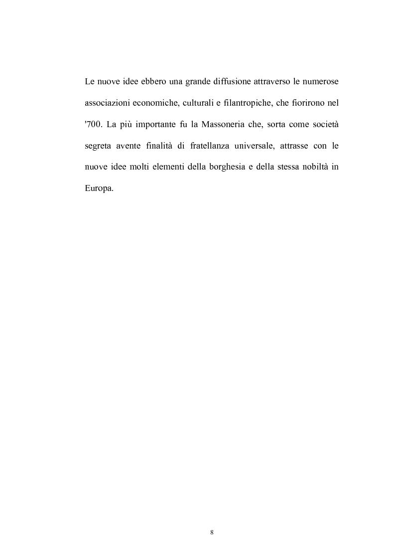 Anteprima della tesi: Il Caffè: discorsi di carattere etico-sociale, Pagina 4