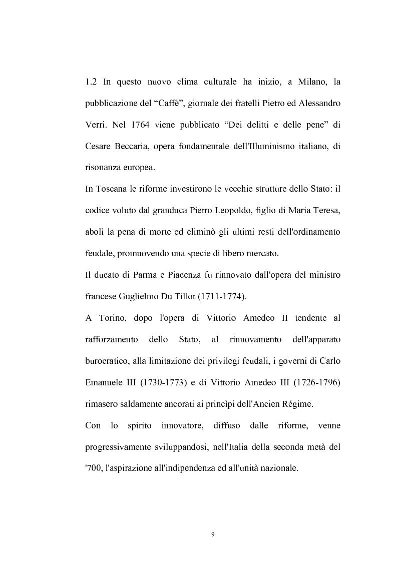 Anteprima della tesi: Il Caffè: discorsi di carattere etico-sociale, Pagina 5