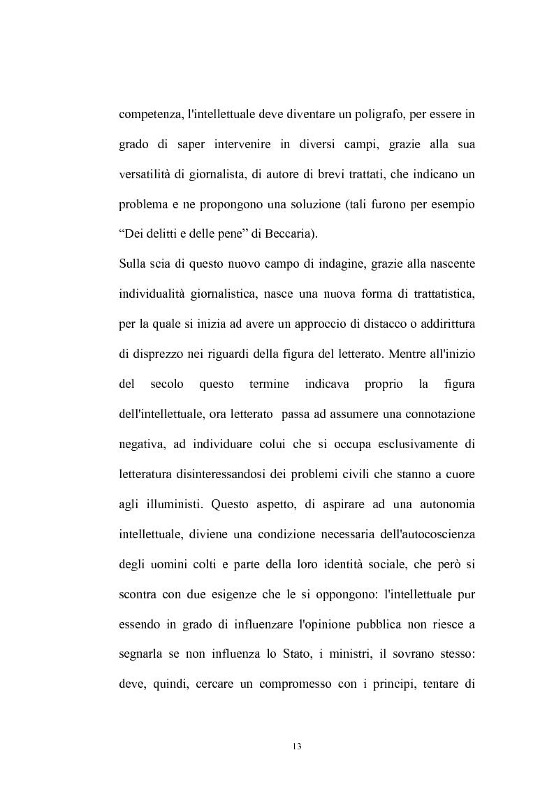 Anteprima della tesi: Il Caffè: discorsi di carattere etico-sociale, Pagina 9