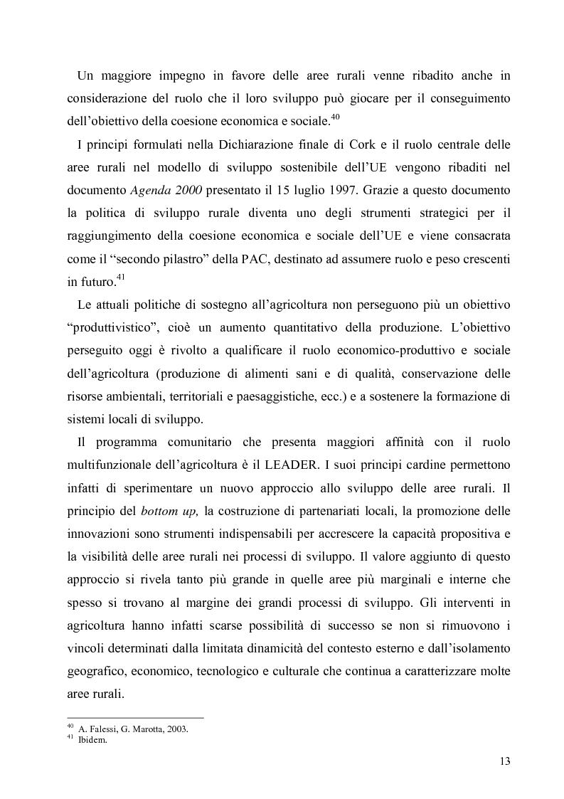 Anteprima della tesi: I Fondi Strutturali europei nel centro Italia. Un caso nella Regione Lazio., Pagina 12