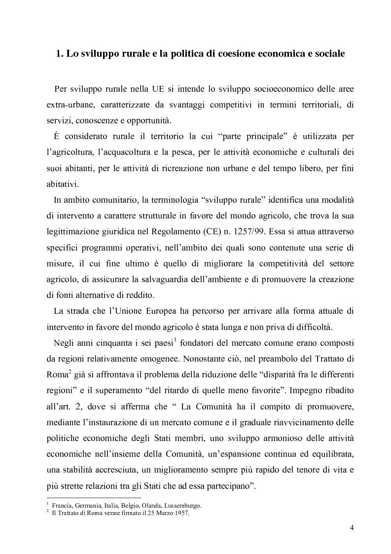 Anteprima della tesi: I Fondi Strutturali europei nel centro Italia. Un caso nella Regione Lazio., Pagina 3
