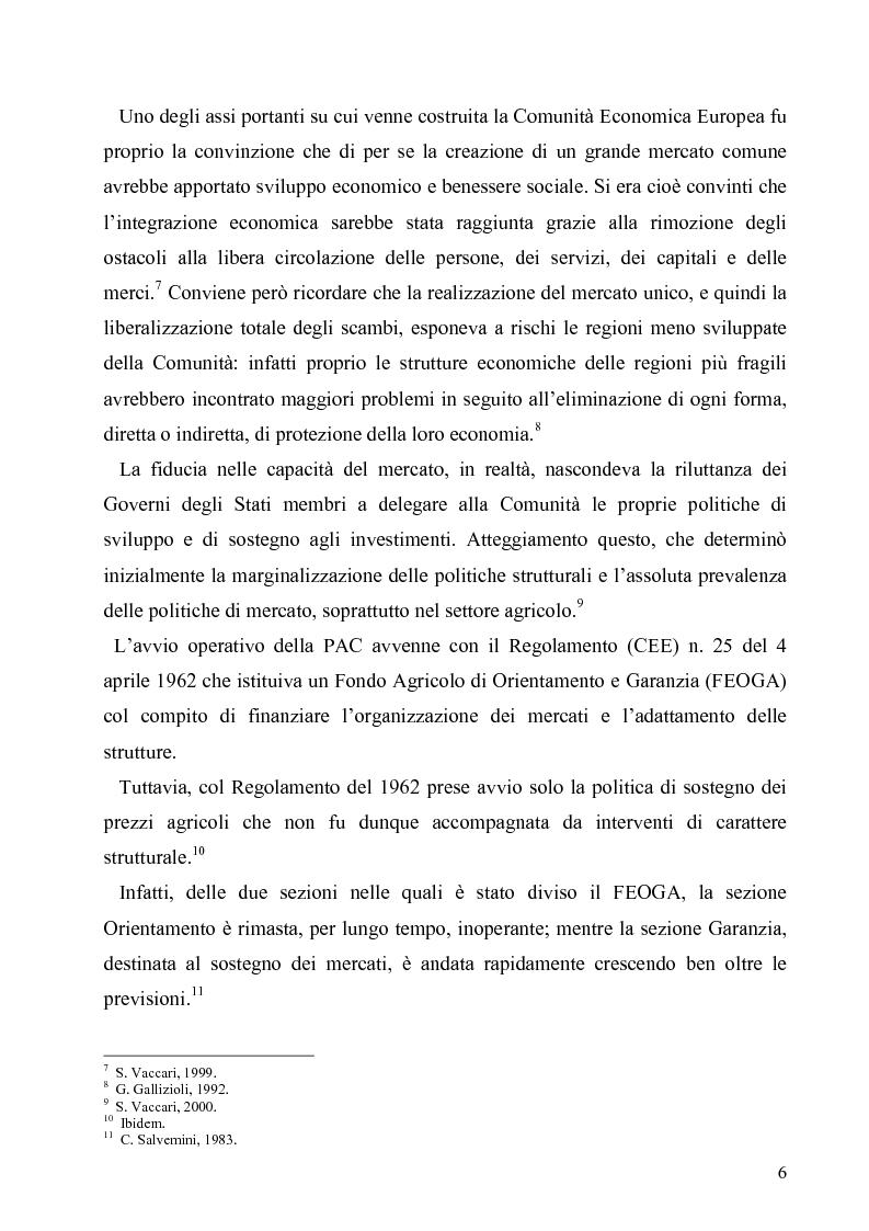 Anteprima della tesi: I Fondi Strutturali europei nel centro Italia. Un caso nella Regione Lazio., Pagina 5