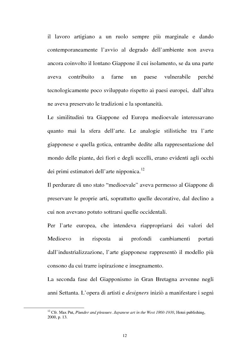 Anteprima della tesi: Il Giapponismo in Aubrey Beardsley, Pagina 12