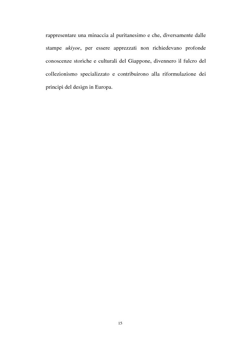 Anteprima della tesi: Il Giapponismo in Aubrey Beardsley, Pagina 15