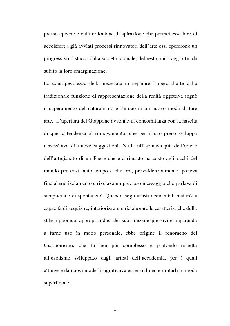 Anteprima della tesi: Il Giapponismo in Aubrey Beardsley, Pagina 4