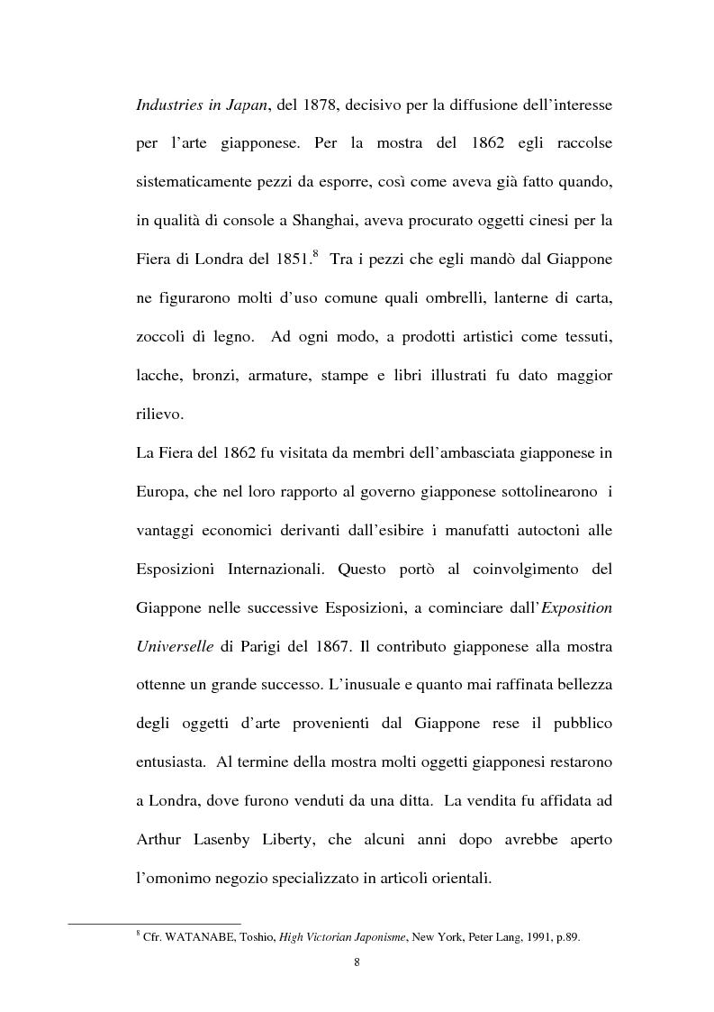 Anteprima della tesi: Il Giapponismo in Aubrey Beardsley, Pagina 8