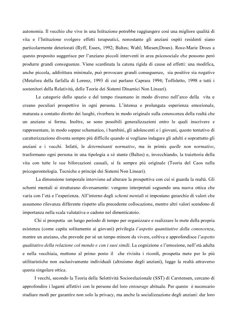 Anteprima della tesi: Attaccamento ai luoghi negli anziani, Pagina 5