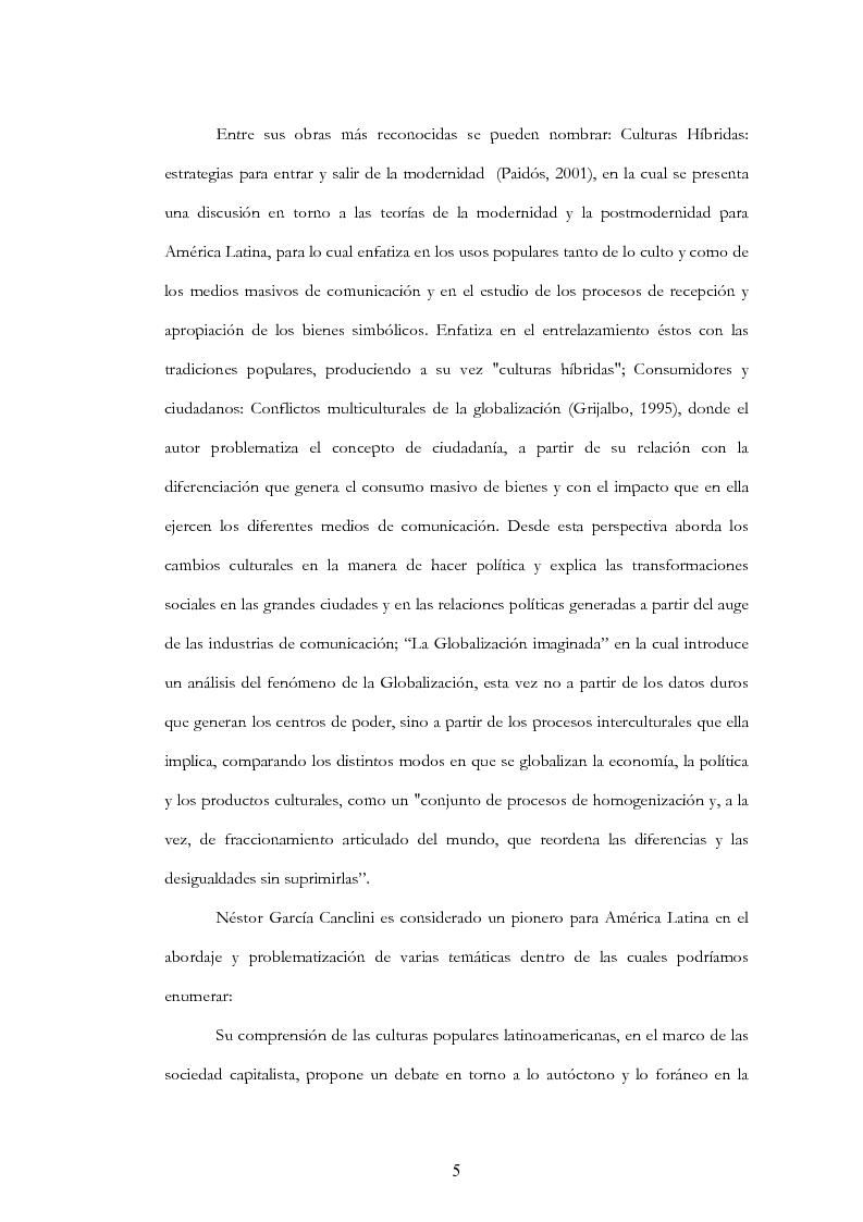 """Anteprima della tesi: Anàlisis, comentario y traducciòn de """"Latinoamericanos buscando lugar en este siglo"""" de Néstor Garcìa Canclini, Pagina 4"""