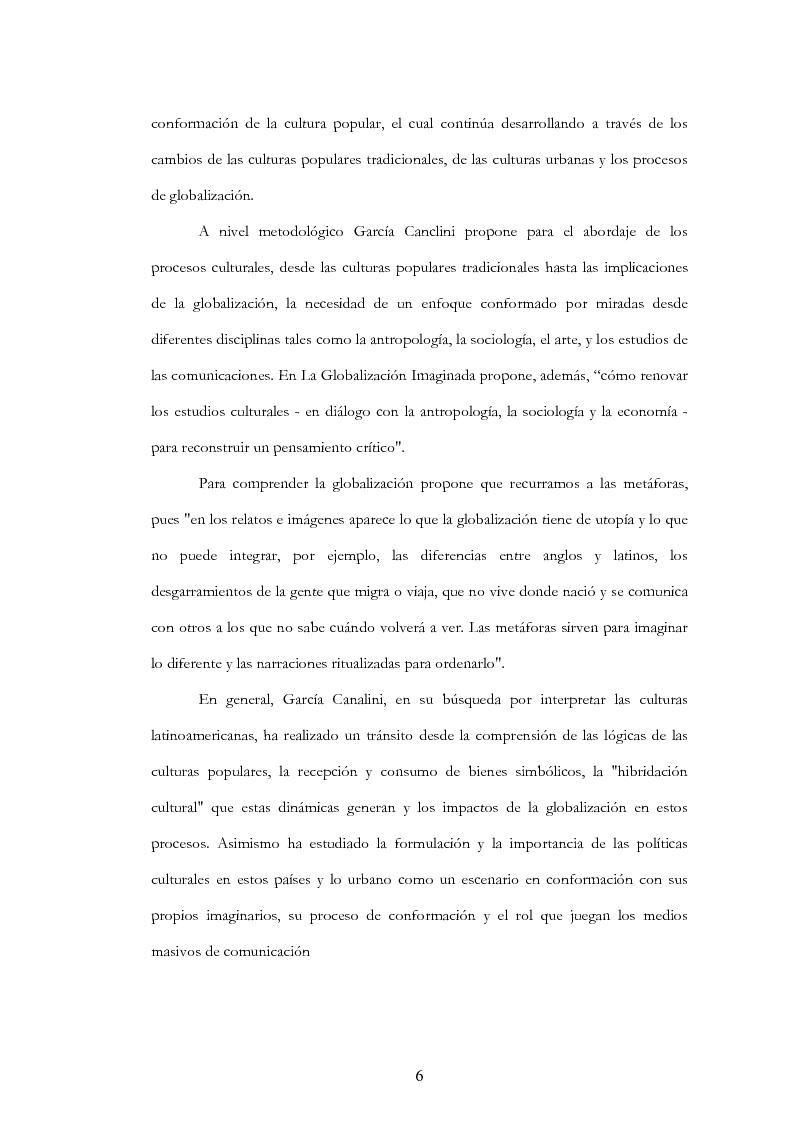 """Anteprima della tesi: Anàlisis, comentario y traducciòn de """"Latinoamericanos buscando lugar en este siglo"""" de Néstor Garcìa Canclini, Pagina 5"""