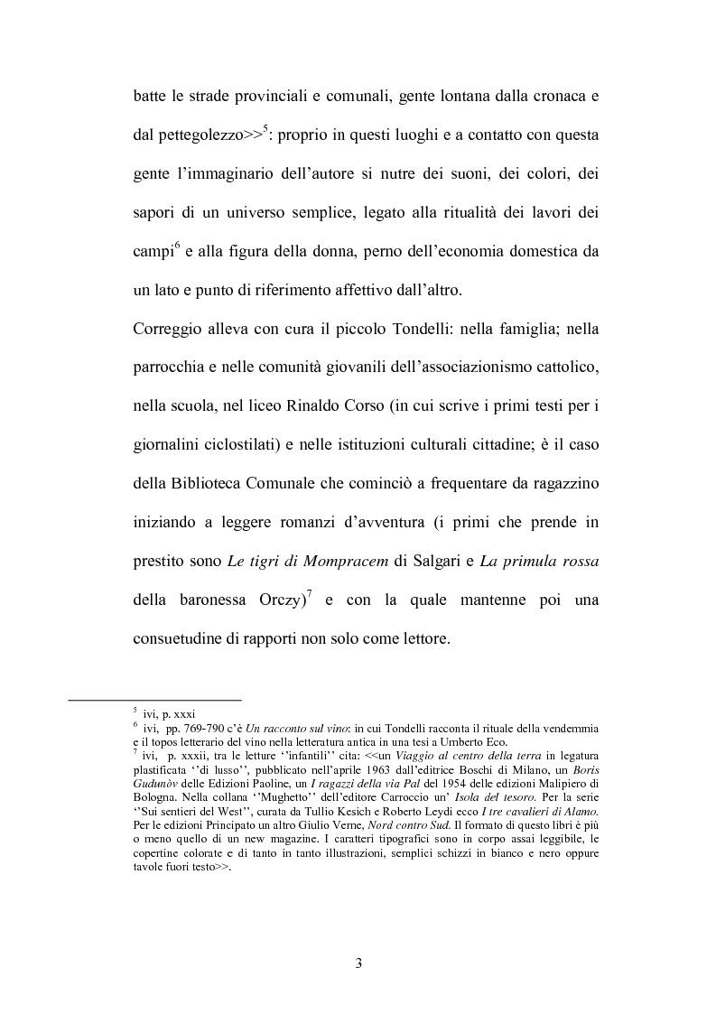Anteprima della tesi: Un testo contro la solitudine. Pier Vittorio Tondelli scrittore postmoderno., Pagina 3