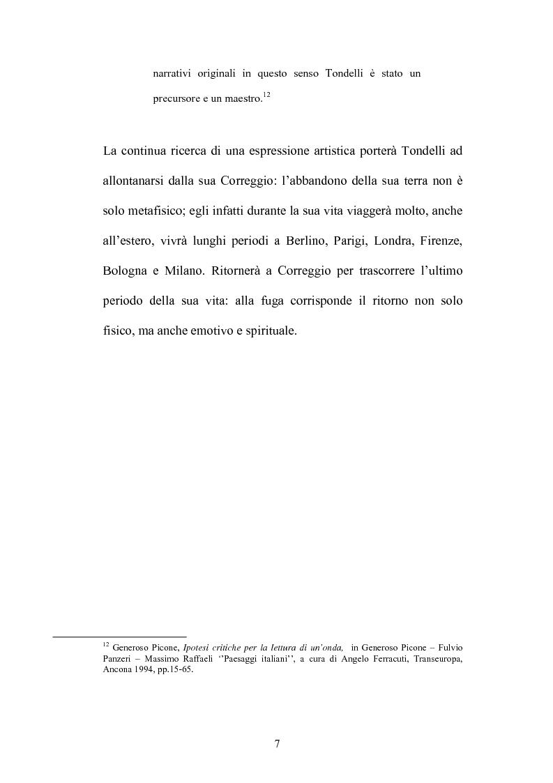 Anteprima della tesi: Un testo contro la solitudine. Pier Vittorio Tondelli scrittore postmoderno., Pagina 7