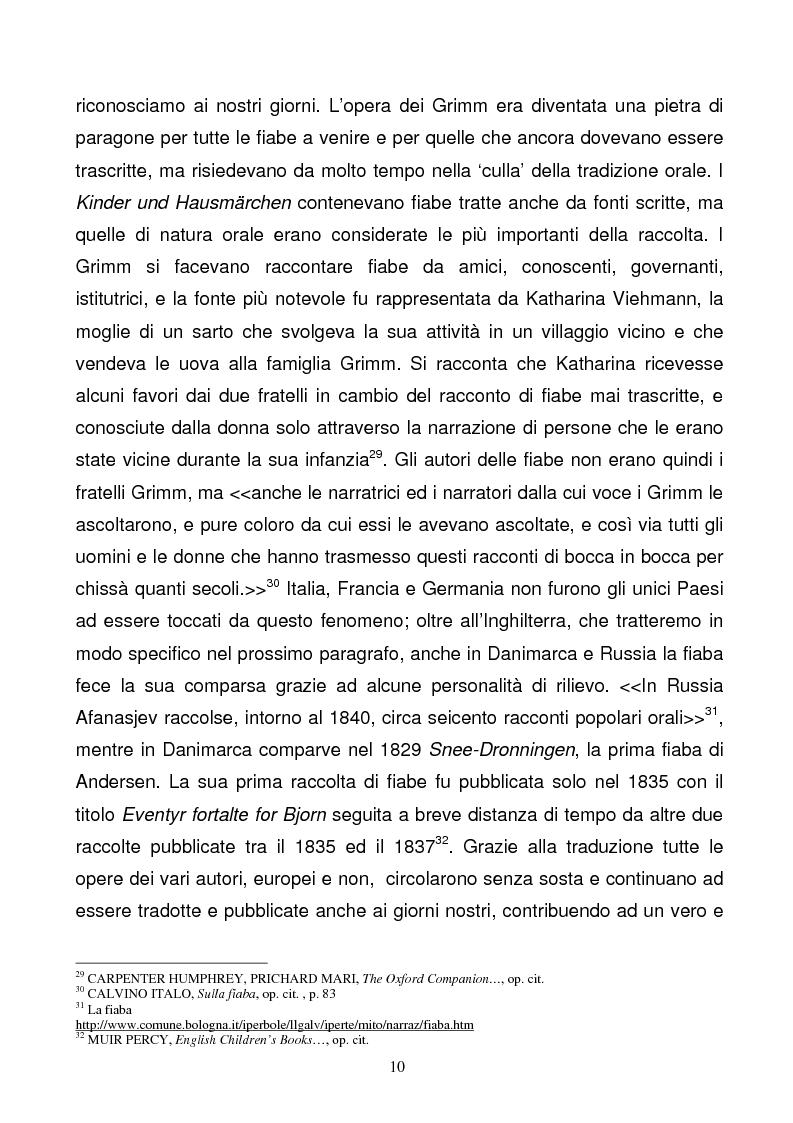 Anteprima della tesi: Tra due mondi: dalla fiaba popolare alle riscritture di Angela Carter in The Bloody Chamber and Other Stories, Pagina 10