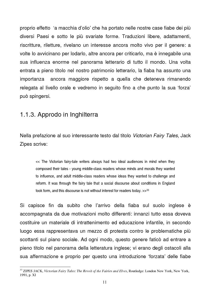Anteprima della tesi: Tra due mondi: dalla fiaba popolare alle riscritture di Angela Carter in The Bloody Chamber and Other Stories, Pagina 11