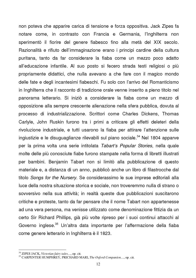 Anteprima della tesi: Tra due mondi: dalla fiaba popolare alle riscritture di Angela Carter in The Bloody Chamber and Other Stories, Pagina 12