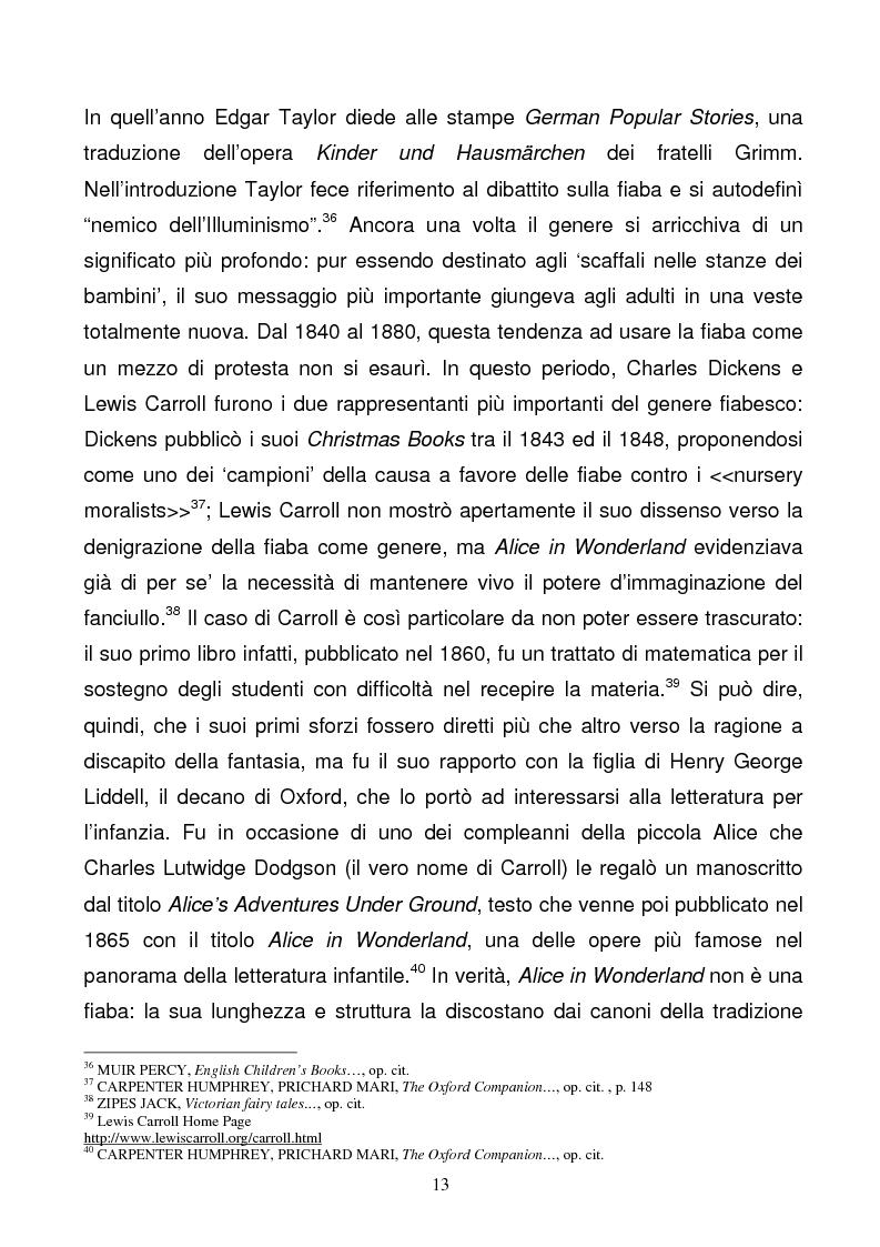 Anteprima della tesi: Tra due mondi: dalla fiaba popolare alle riscritture di Angela Carter in The Bloody Chamber and Other Stories, Pagina 13