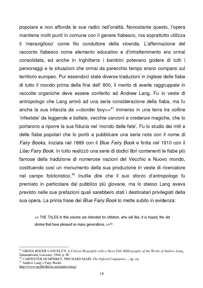 Anteprima della tesi: Tra due mondi: dalla fiaba popolare alle riscritture di Angela Carter in The Bloody Chamber and Other Stories, Pagina 14