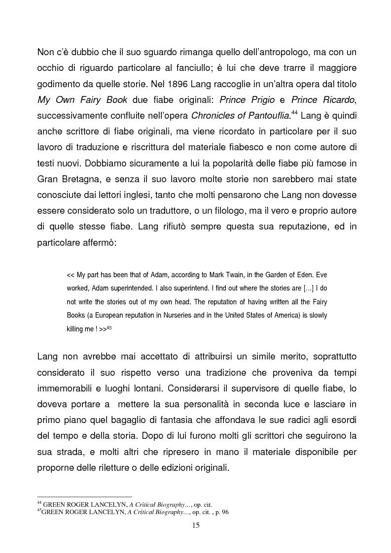 Anteprima della tesi: Tra due mondi: dalla fiaba popolare alle riscritture di Angela Carter in The Bloody Chamber and Other Stories, Pagina 15