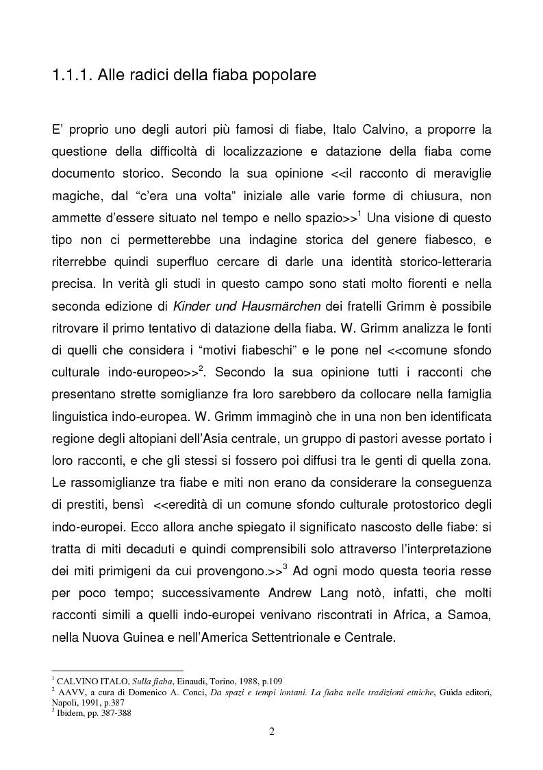 Anteprima della tesi: Tra due mondi: dalla fiaba popolare alle riscritture di Angela Carter in The Bloody Chamber and Other Stories, Pagina 2