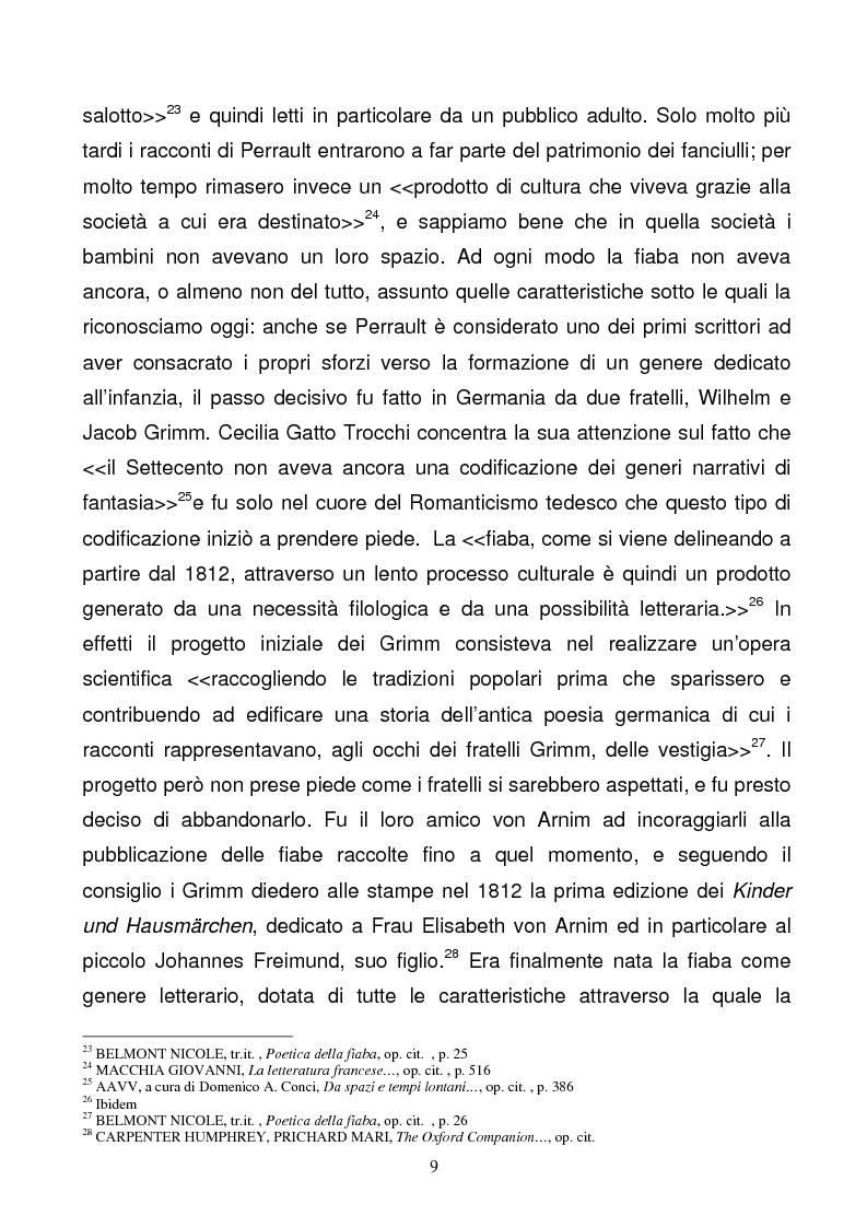 Anteprima della tesi: Tra due mondi: dalla fiaba popolare alle riscritture di Angela Carter in The Bloody Chamber and Other Stories, Pagina 9