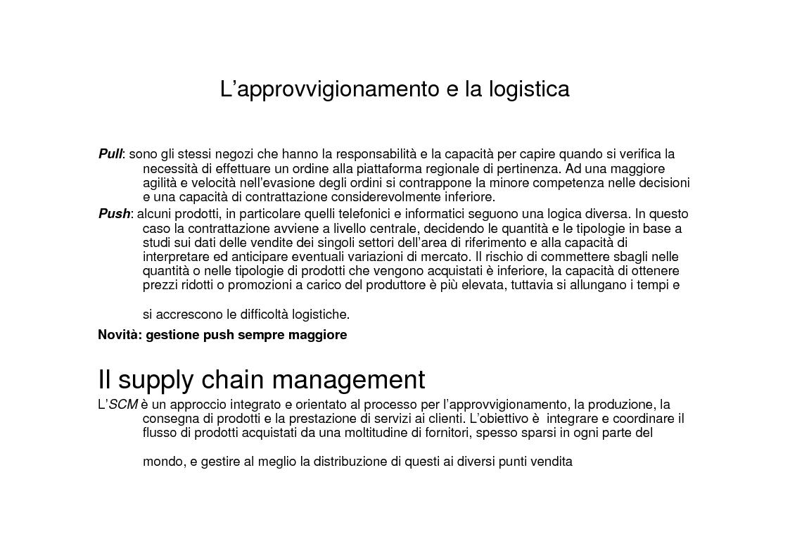 Anteprima della tesi: La grande distribuzione specializzata nell'elettronica di consumo. Il caso UniEuro - Dixons., Pagina 9
