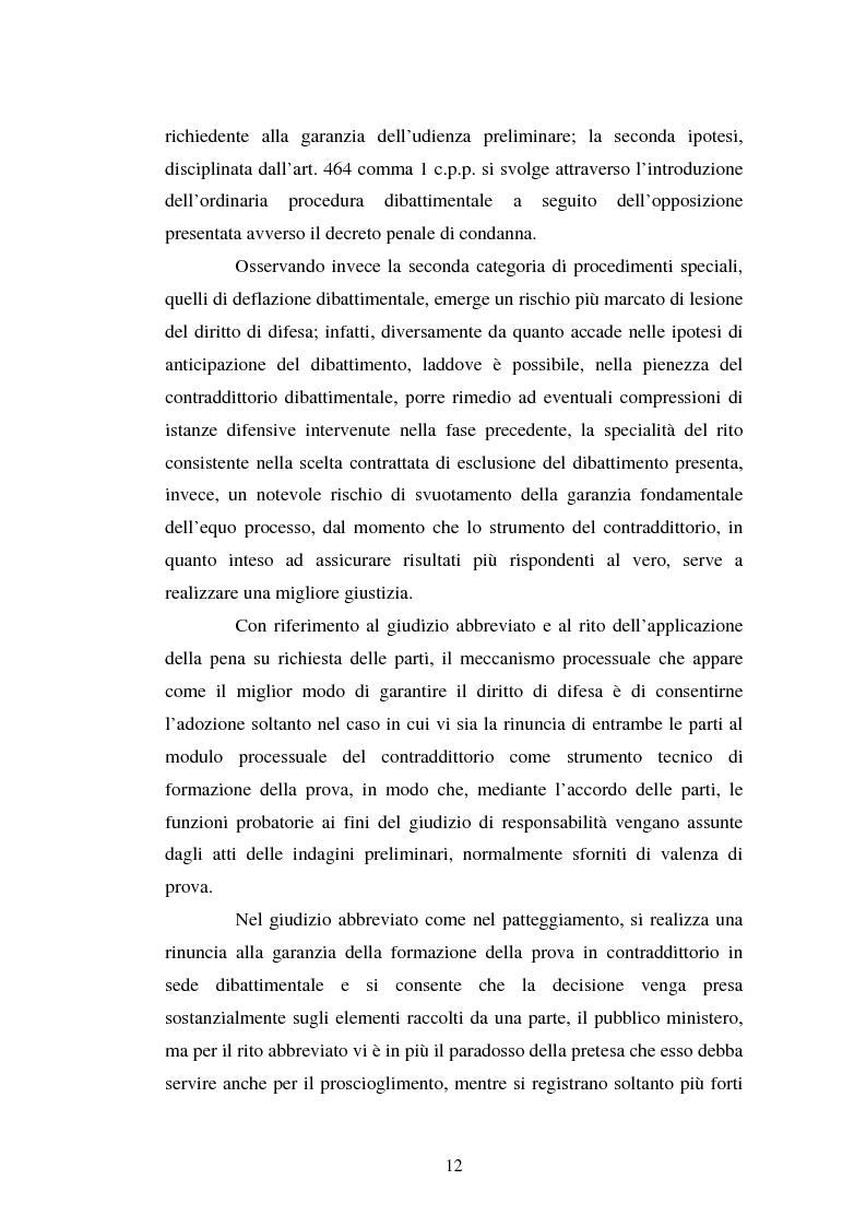 Anteprima della tesi: Strategie difensive e udienza preliminare, Pagina 12