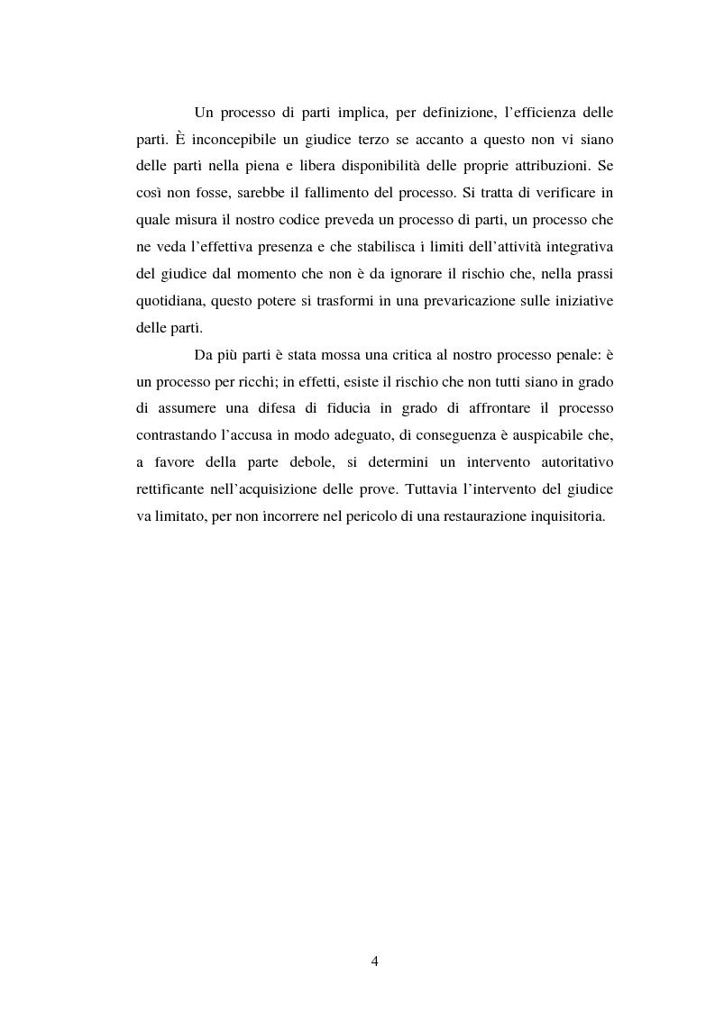 Anteprima della tesi: Strategie difensive e udienza preliminare, Pagina 4