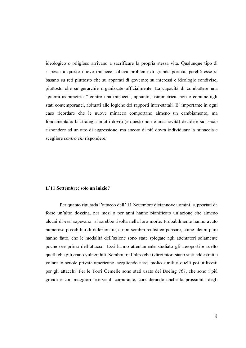 Anteprima della tesi: Il National Security Strategy 2002: Una nuova Grand Strategy americana?, Pagina 5