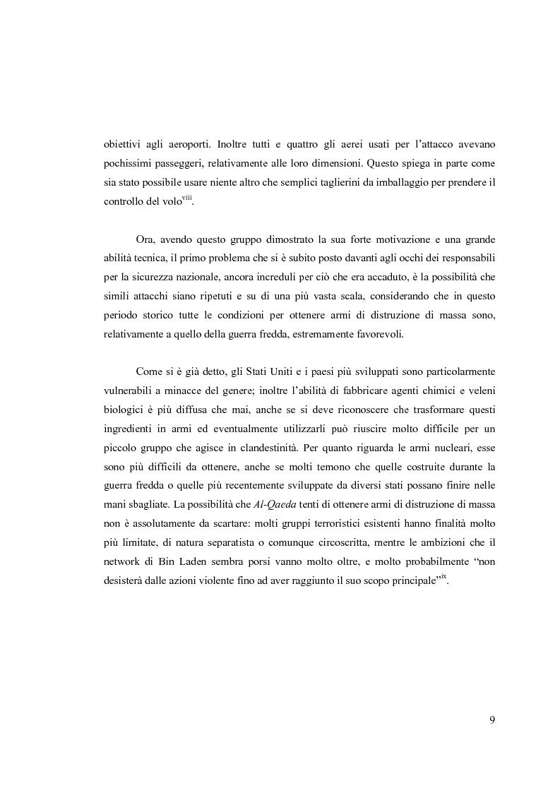Anteprima della tesi: Il National Security Strategy 2002: Una nuova Grand Strategy americana?, Pagina 6
