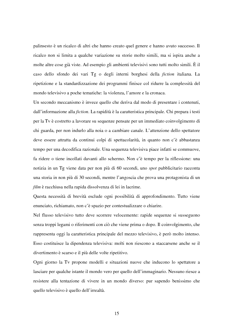 Anteprima della tesi: Costruzione dei palinsesti e marketing televisivo, Pagina 15