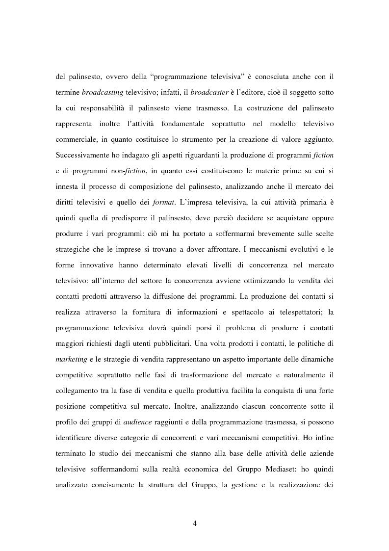 Anteprima della tesi: Costruzione dei palinsesti e marketing televisivo, Pagina 4