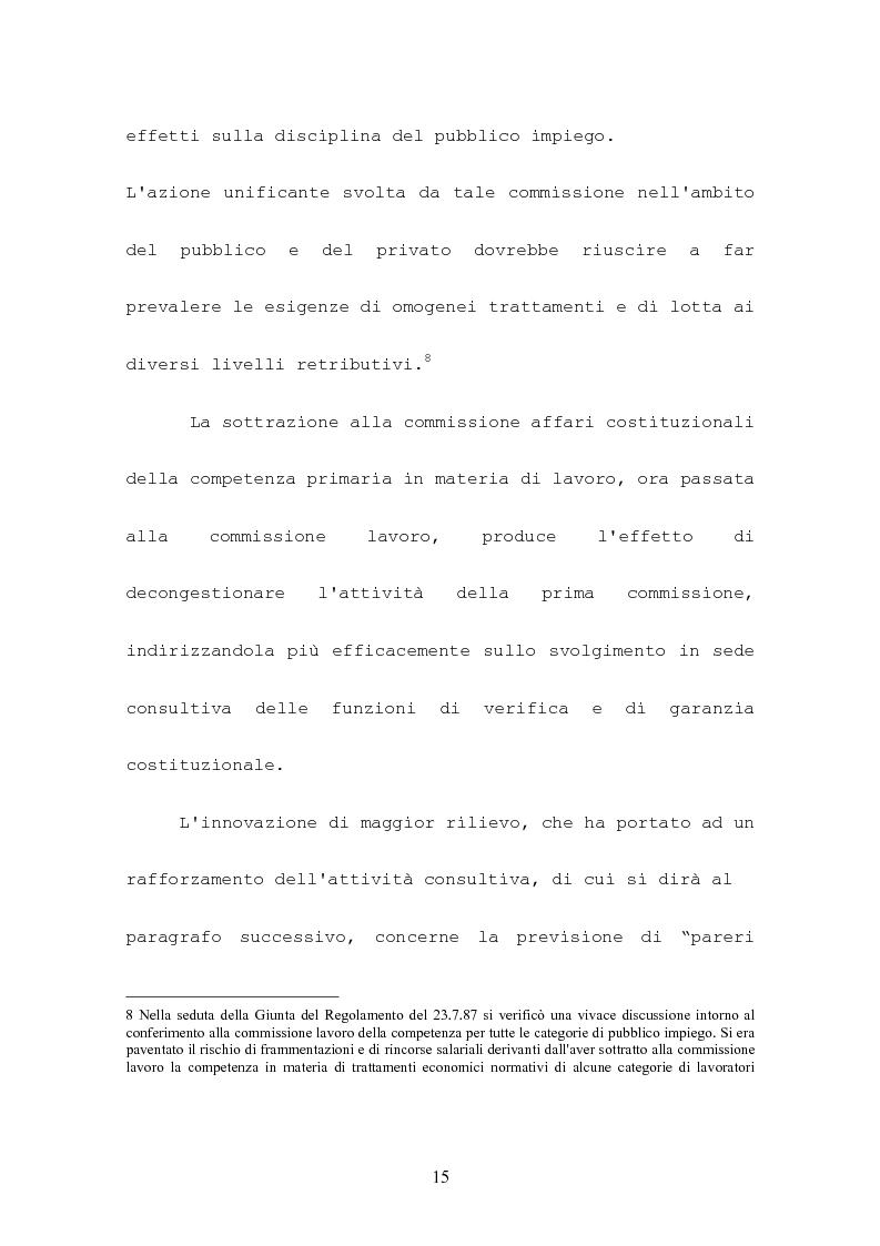 Anteprima della tesi: L'attività consultiva delle commissioni nel procedimento legislativo, Pagina 11