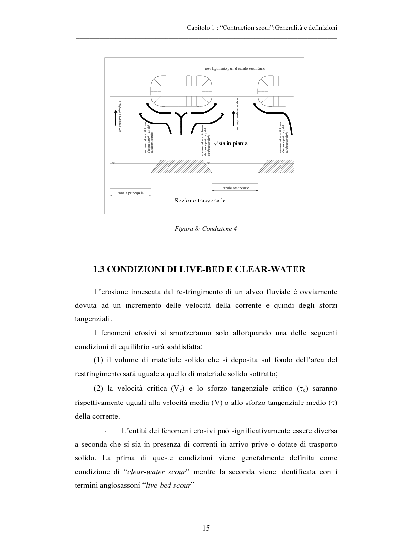 Anteprima della tesi: Indagine sperimentale sull'evoluzione morfologica di un alveo fluviale soggetto a restringimento, Pagina 11