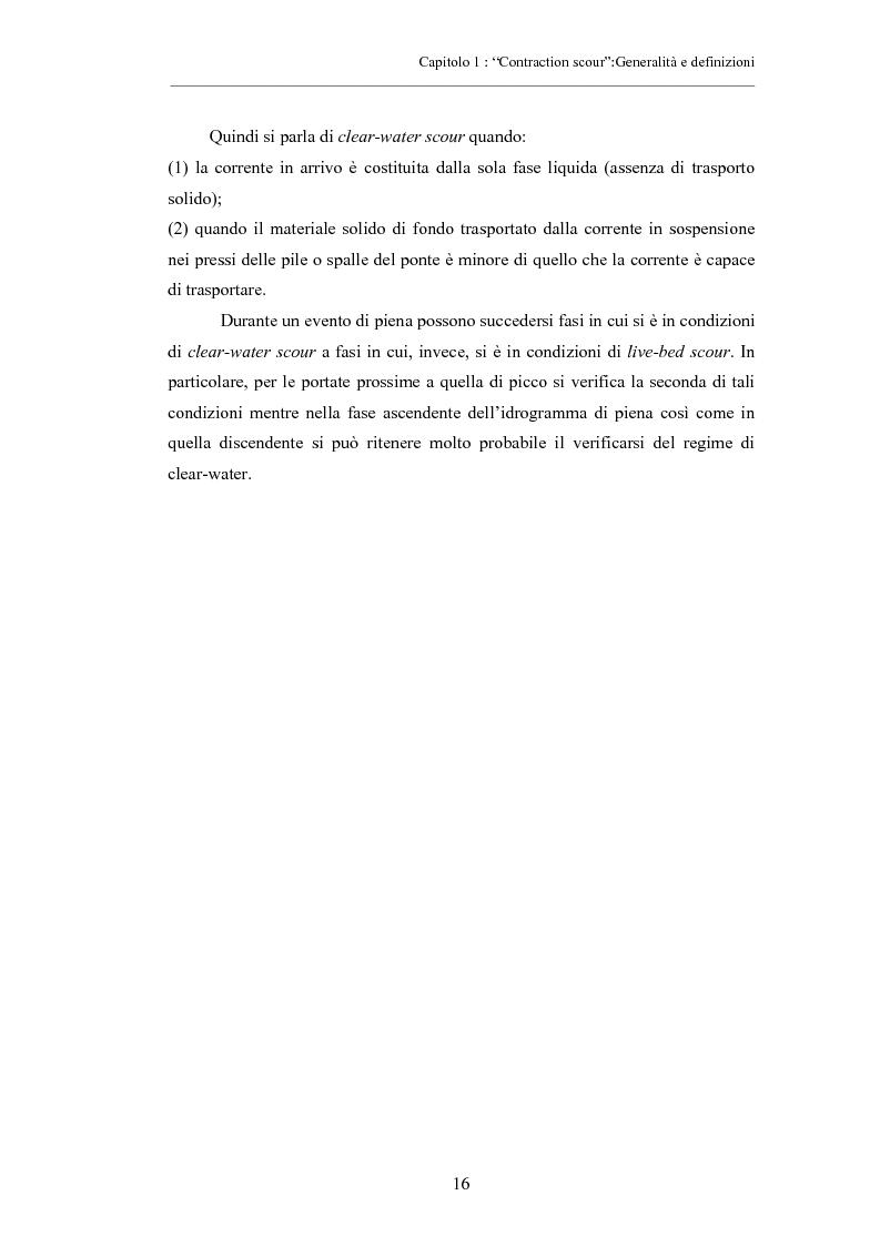 Anteprima della tesi: Indagine sperimentale sull'evoluzione morfologica di un alveo fluviale soggetto a restringimento, Pagina 12