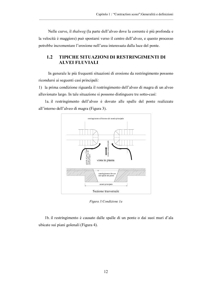 Anteprima della tesi: Indagine sperimentale sull'evoluzione morfologica di un alveo fluviale soggetto a restringimento, Pagina 8