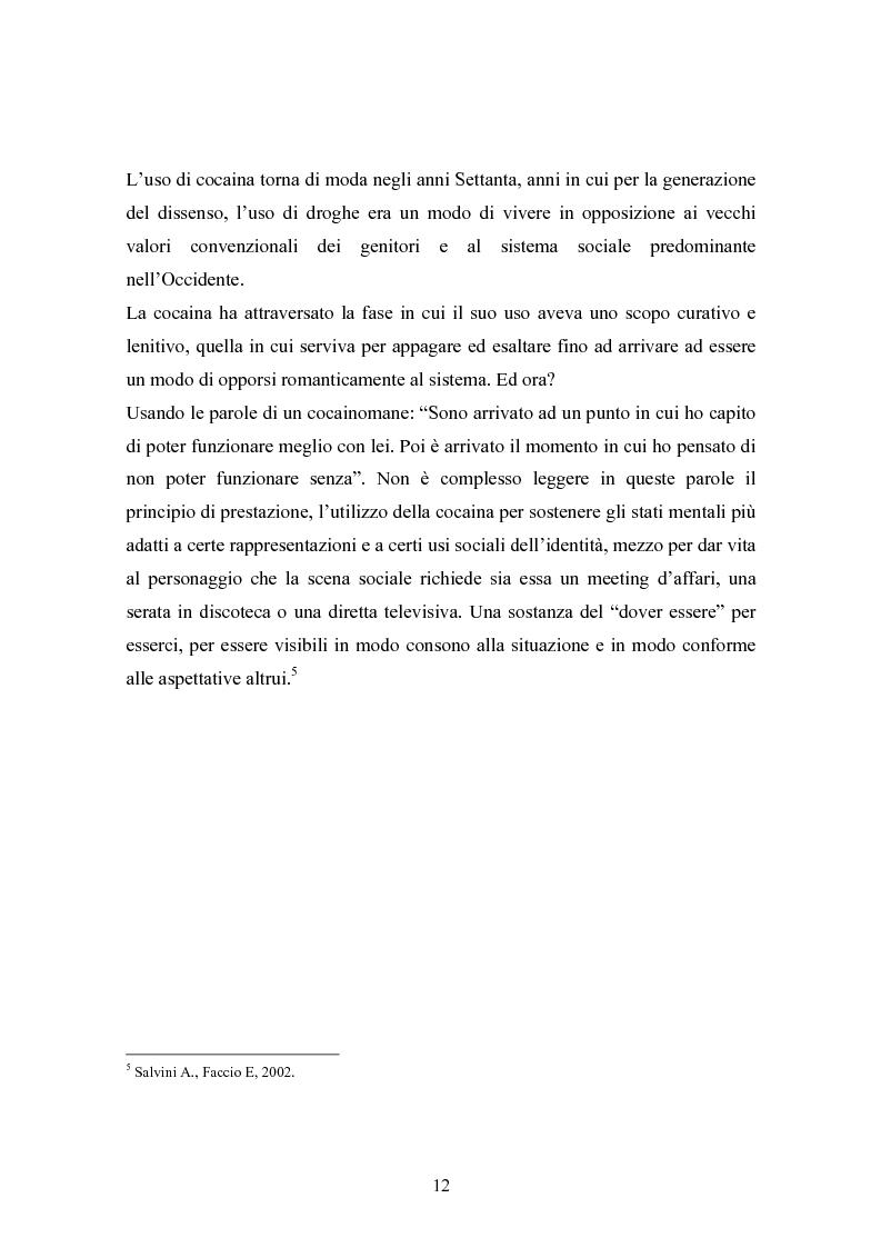 """Anteprima della tesi: La strada come """"setting variabile"""". Un progetto di intervento con tossicodipendenti attivi, Pagina 10"""