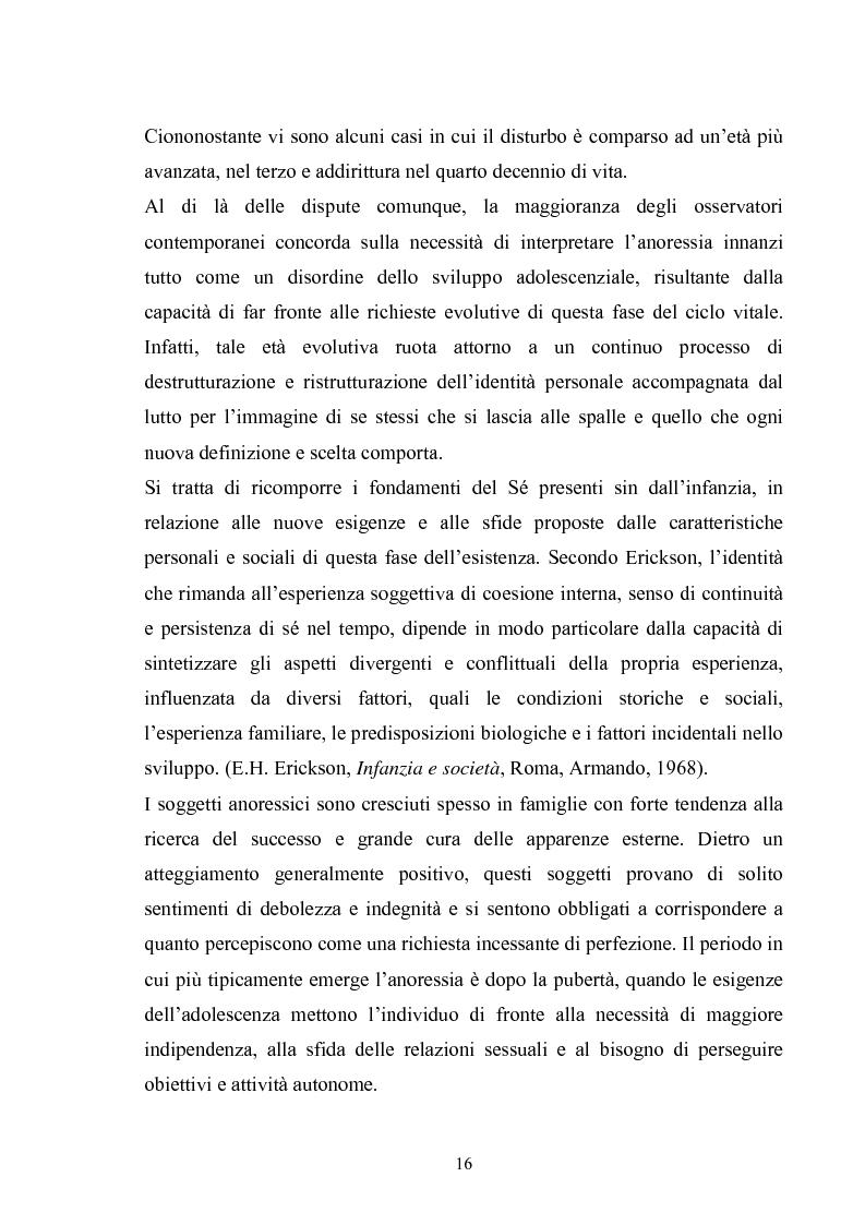 Anteprima della tesi: Il ruolo del padre nell'insorgenza del disturbo alimentare: anoressia e bulimia, Pagina 13