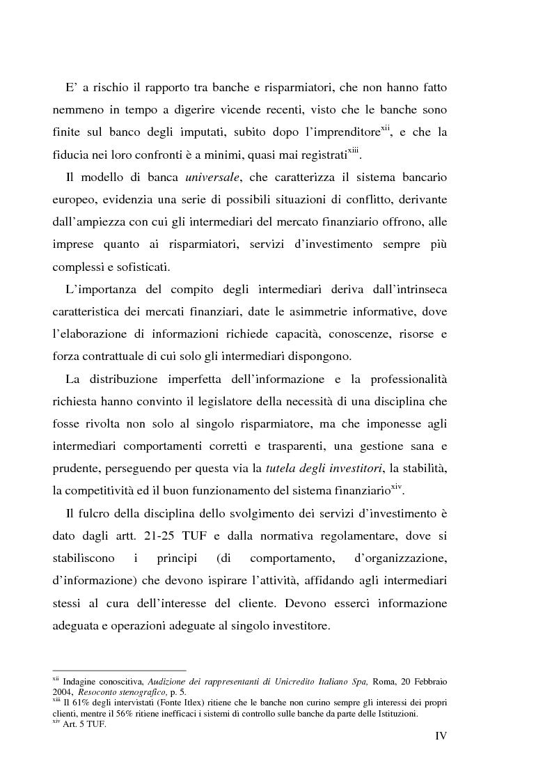 """Anteprima della tesi: Un recente """"disastro"""" finanziario: il caso Parmalat, Pagina 4"""