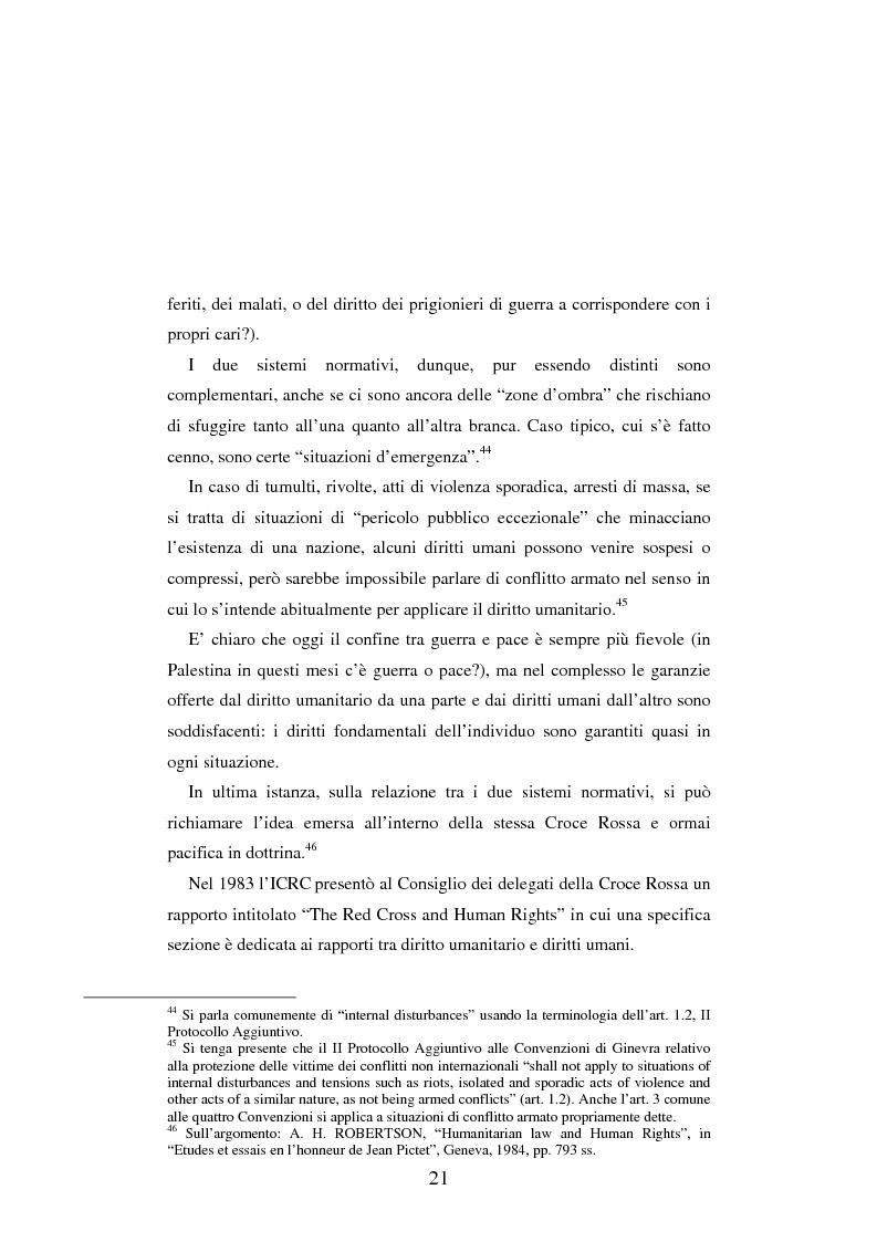 Anteprima della tesi: Le figure criminose previste dallo Statuto della Corte Penale Internazionale a confronto con quelle dello Statuto del Tribunale per l'ex-Jugoslavia, Pagina 15