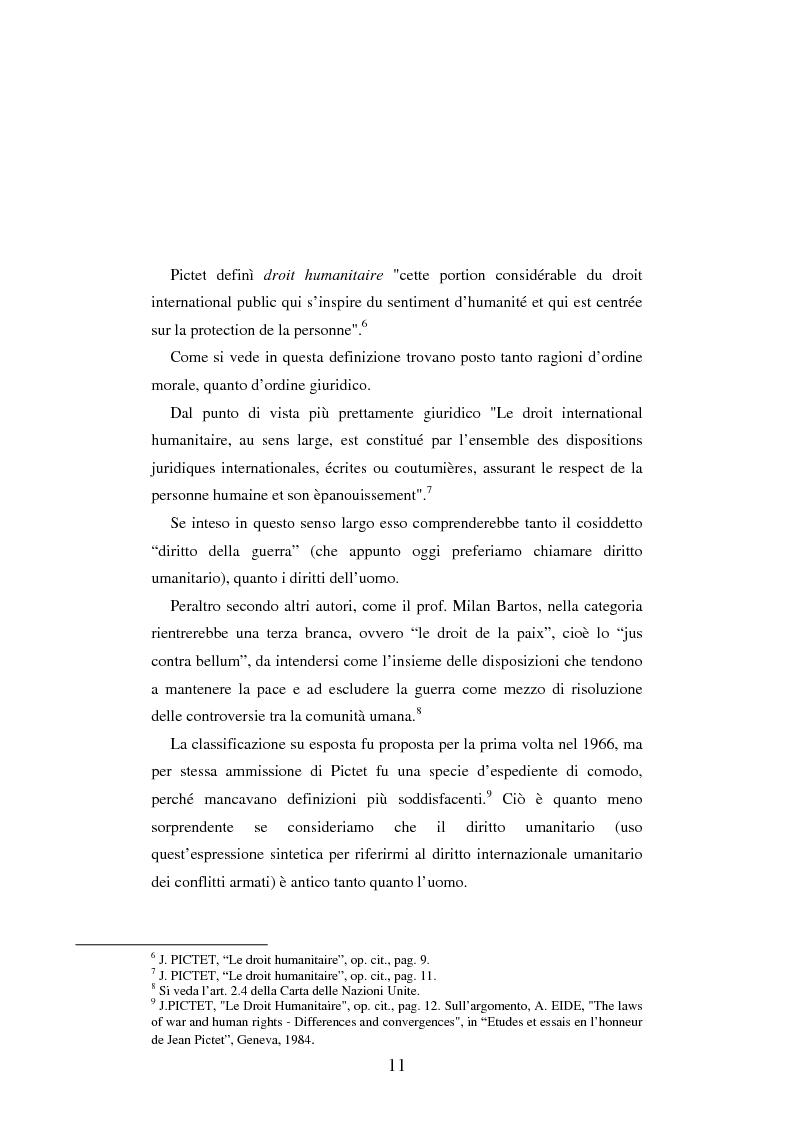 Anteprima della tesi: Le figure criminose previste dallo Statuto della Corte Penale Internazionale a confronto con quelle dello Statuto del Tribunale per l'ex-Jugoslavia, Pagina 5