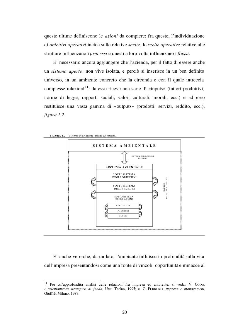 Anteprima della tesi: Crisi d'impresa. Processi degenerativi, strumenti di diagnosi e misure di prevenzione., Pagina 13