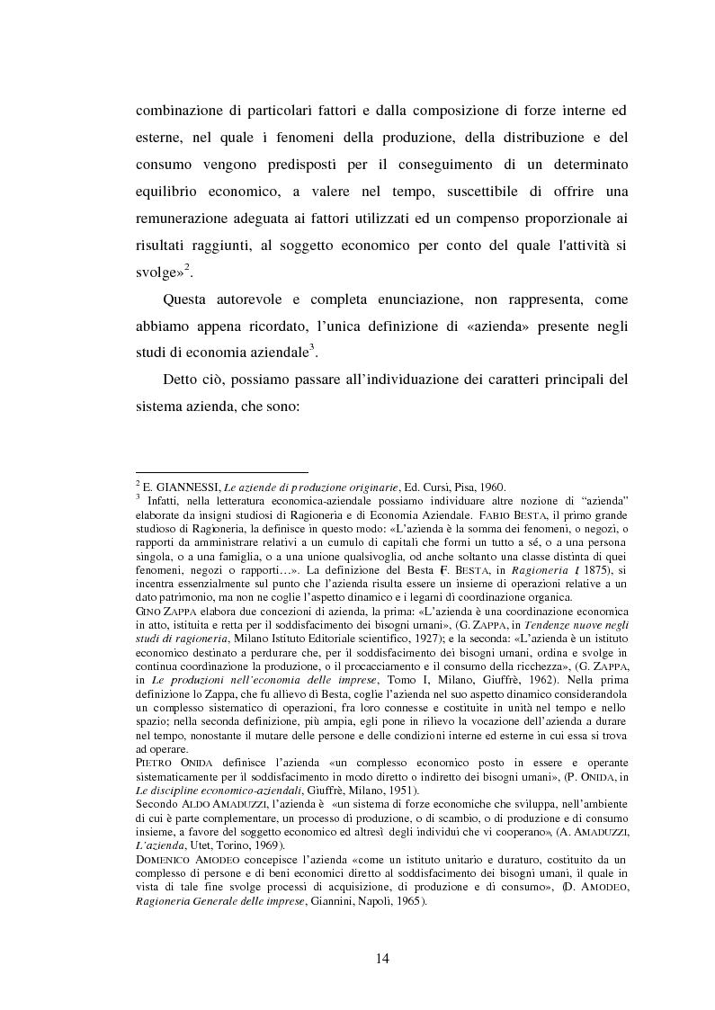 Anteprima della tesi: Crisi d'impresa. Processi degenerativi, strumenti di diagnosi e misure di prevenzione., Pagina 7