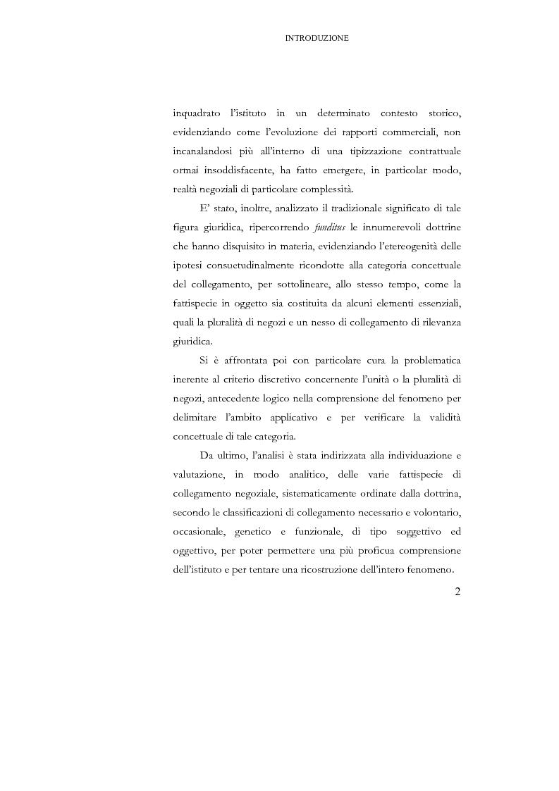 Anteprima della tesi: I negozi collegati, Pagina 2